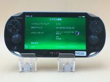 P4026 Sony PS Vita PCH-1100 console Crystal Black Japan Express