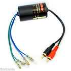 Speaker to RCA Converter -High to Low Line Level Cable- Car CD/Radio Amplifier
