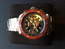 New Breitling Skyracer Pro- Raven Chronograph Stainless Steel Watch and Bracelet