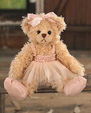Teddy Bear 'Juliana' Settler Bears Handmade Princess Gift Ballet Girl 25cms
