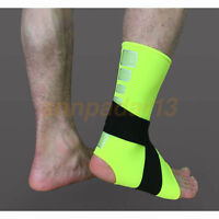 Elastic Ankle Support Brace Sport Train Gym Pad Strap Breathable Foot Wrap