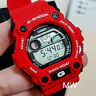 Authentic Casio G-7900A-4ER G-Shock Red G-Rescue Tide Moon Men's DIgital Watch