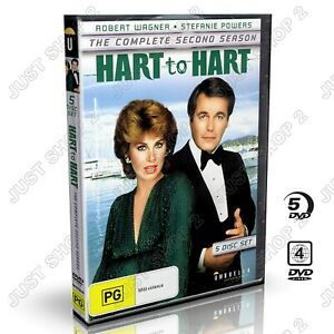 Hart to Hart DVD : TV Series Season 2 : Brand New 5 Disc Set