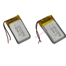 2 Pcs 3.7 V 420 mAh Rechargeable Polymer Li Batterie Pour Mp3 GPS Bluetooth 702035
