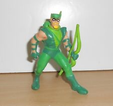 "THE GREEN ARROW PVC FIGURINE Figure 4"" Tall Hard Rubber D.C. Comics 1991"
