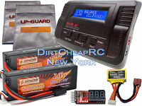 14.8V COMBO B680 Charger 7.4V 5200mah LiPo Battery Traxxas E-Revo E-Maxx Savage