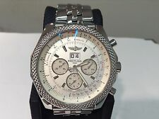 BREITLING for BENTLEY Ref. A44364 6.75 S/Steel 49mm Automatic Chronograph! MINT!