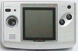 SNK NEO GEO NEOGEO Pocket Color console Only Very Rare Platinum silver Japan