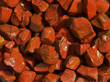 1 LB RED JASPER Bulk Rough Rock Stones Tumbling 2200+ct