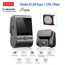 "2.0"" LCD Viofo A129 Duo Dual Lens GPS WiFi Car Dash Video Recorder + CPL Filter"