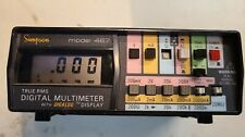 True Rms Digital Multimeter Model 467 Simpson Electric Tested Missing Buttons