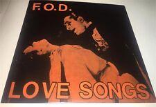 "Love Songs By Flag of Democracy Green with Pink Splatter 7"" Vinyl RSD LTD NEW"