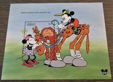 Dominica - 1994 - Postfris - Disney - Blok - Mickey 65 jaar S/S