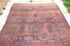 £ 2900 Antiguo Hecho a Mano Alfombra De Lana Persa afgano balouch 300 X 180