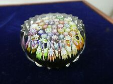 Peter McDougall  Glass Millefiori Paperweight c/w PMCD Cane and Label