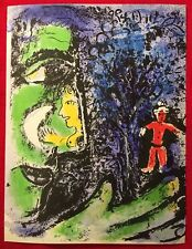 Marc Chagall, Profile And Red Child, Stone Lithograph,1963, Mourlot, Paris