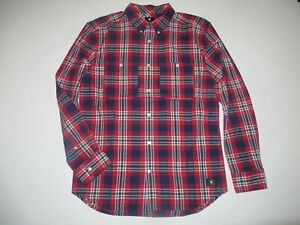 DC Shoes 'South Ferry' Men's LS Shirt - Large - Brand new