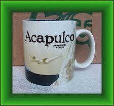 Starbucks Mug Acapulco Mexico Icon Series -16 oz  BRAND NEW LIMITED EDITION RARE
