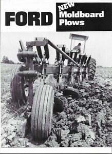 Original OE Ford 150 151 152 Moldboard Plows Sales Brochure Form # AD-2183 97650
