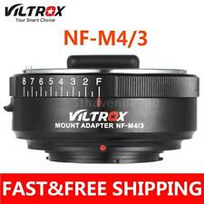 VILTROX NF-M4/3 Mount Adapter Ring for Nikon G/F/AI/S/D Lens to M4/3 Camera AU