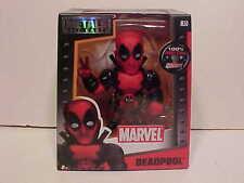 Marvel Movie DEADPOOL Heavy Metal Diecast Figurine Jada Toys 4 inch RED M50