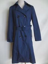 Zweireiher MADELEINE Mantel Trenchcoat 38 mittel blau wie NEU /R2