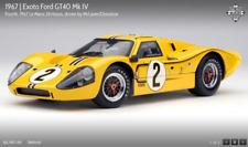 Exoto '67 Ford GT40 Mk IV 24H LeMans #2 McLaren/Donohue RLG18057, NIB 1:18 RET.
