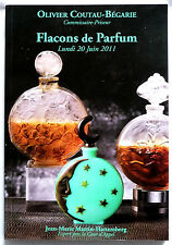 "CATALOGUE DE VENTE ""FLACONS A PARFUM"" 20 JUIN 2011 / COLLECTION"