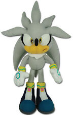"Authentic Sonic the Hedgehog 13"" Silver Sonic Plush Doll (GE-8960) by GE"