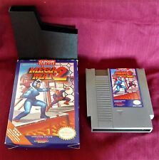Vintage 1989 Mega Man 2 Game w Box Nintendo NES by Capcom REV-A