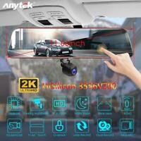 "11.66"" Car Full HD DVR Touch Screen Dual Lens Rearview Mirror Dash Cam Recorder"