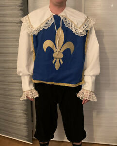 kostüm herren 3 musketiere dartanion Größe L