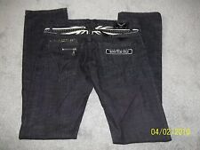 Robin's Size 34 x 36 Men's Jeans style # BD5543 ENGLAND BORN TO BE WILD 602198