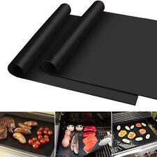 Zusätzlich verwendbar BBQ Liner Antihaft-Barbecue Grillrost Backblech Matte Vlies 40 x 60cm