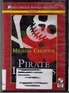 Pirate Latitudes by Michael Crichton (2009) MP3CD Complete & Unabridged !!