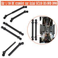 2x CVD-Antriebswelle Metall und Stahl für 1/10 RC Crawler Axial SCX10 RC4WD D90