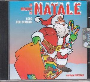 16 melodie di Natale Cd Nuovo Sigillato coro voci bianche