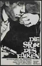 THE MALTESE FALCON Movie POSTER 11x17 German C Humphrey Bogart Mary Astor Peter