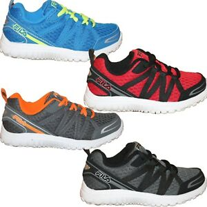 Boys Kids Fila FLYVER Playground Casual Running Sneakers Shoes 10.5-7 PS GS