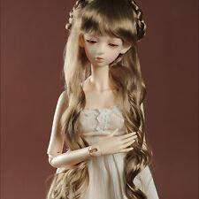 """Dollmore 1/3 BJD Dollfie SD wig (8-9)""""  Celine Long Wig (Brown)"""