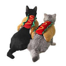 Pet Dog Halloween Hot Dog Costume Cat Dog Clothes Cosplay Party Pet Funny Outfit
