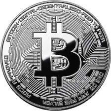 Bitcoin Proof 1 oz .999 fine Solid silver commemorative AOCS limited 2500 w/ COA