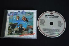 BANANARAMA DEEP SEA SKIVING RARE WEST GERMAN PRESSED CD!