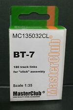 Pistas De Resina Para BT-7, MC135032CL, Masterclub, 1:35
