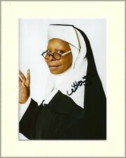 WHOOPI GOLDBERG SISTER ACT PP 8x10 MOUNTED SIGNED AUTOGRAPH PHOTO