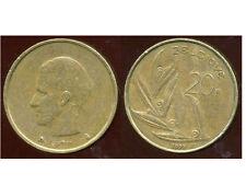 BELGIQUE  20 francs  1993  ( belgique)