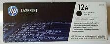 Printer Toner Cartridge HP Q2612A Black 12A Brand New Genuine HP OEM