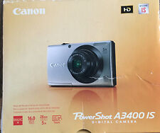 Canon PowerShot A3400 IS 16.0 MP Digital Camera with 5x Optical Stabilized Zoom-