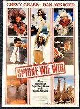 Spione wie wir 1985 - Aykroyd & Chase & Dixon - Original A1 Filmposter (M-6035+