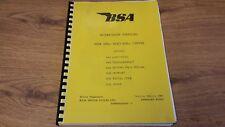 BSA A50 & A65 All Models - Workshop Manual Factory Copy 1966 -1968 00-4123 Bw38
